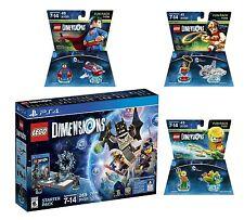 Lego Dimensions Starter Pack Superman + Aquaman + Wonder Woman Playstation 4 PS4