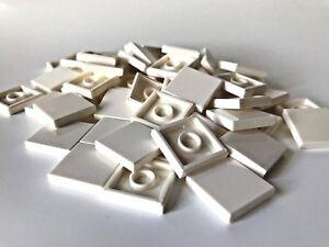 LEGO ®  50 Fliesen 2x2 in  weiß ( white ) , NEUWARE