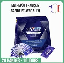 Crest 3d white luxe: 20 Bandes + 1 Stylo. Traitement 10 Jours. France.No box
