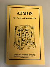 Jaeger LeCoultre Atmos Perpetual Clock Repair Manual-Hard to Find!