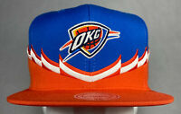 Mitchell and Ness NBA Oklahoma City Thunder OKC Steal Snapback Hat, Cap, New