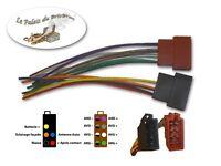 Connecteurs fiches femelle ISO 8PIN + 5PIN-Faisceau universel précâblé autoradio