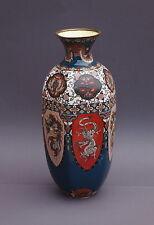 Grosse Emaille-Cloisonne Vase, China um 1900  (# 3035)