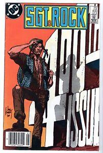 Sgt. Rock #400, Very Fine - Near Mint Condition