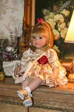 "Princess Reborn Doll 24""60cm Silicone Vinyl Reborn Baby Girl Dolls for XMS Gift"
