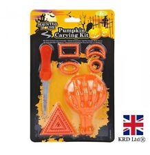 9Pcs Conjunto de herramientas de talla de calabaza de Halloween Diseños Craft Herramientas Kit de Fiesta 979030 Reino Unido