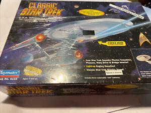 1995 Playmates Classic Star Trek U.S.S. Enterprise NCC-1701 Electronic