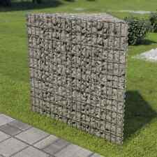 Vidaxl jardinera gaviones acero galvanizado 75x75x100 cm sembrador plantador