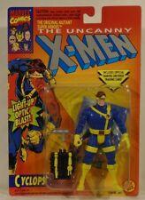 X-Men Cyclops With Light-Up Optic Blast ToyBiz Series 5 Cerebro Back Pack (MOC)