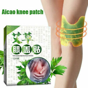 200 PCS Wormwood Moxa Hot Moxibustion Knee Pain Relief Patch Plaster Sticker Pad