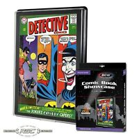BCW Silver / Regular Comic Book Showcase with UV Protection - Protect & Display