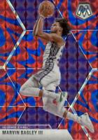 2019-20 Panini Mosaic Reactive Blue Prizm Marvin Bagley III #20 Sacramento Kings