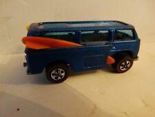 Vintage Hot wheels redline beach bomb 1969 mattel volkswagon hong kong blue!