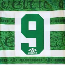 Original Celtic 1995-97 Home Name And Number Sets. Any Name. Any Number.