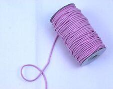 """5 metros de profundidad Candy Pink estiramiento del cordón 2/""""//5.5cm Top Seller recorte"""