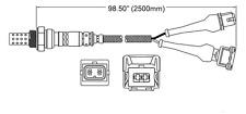 New LSM11 4-Wire Wide Band Diagnostics Oxygen Sensor O2