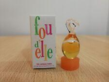 Fou d'Elle Ted Lapidus for Women EDT 4 ml  Miniature Mini Perfume New