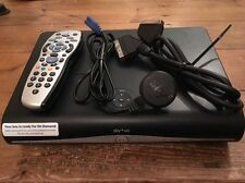 SKY+ 500GB HD BOX with built-in WiFi On Demand Anytime inc Remote & Cables Sky +
