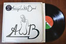 AWB Average White Band Rock w/ hype sticker shrink Record lp NM
