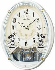 SEIKO Disney Mickey Mouse Radio Wall Clock 6 Melodies FW579W F/S