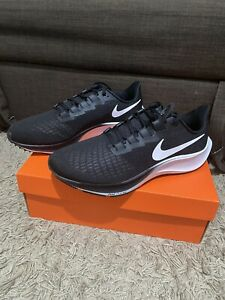 Nike Air Zoom Pegasus 37 Black White UK 9 Brand New