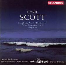 "Cyril Scott: Symphony No. 3 ""The Muses""; Piano Concerto No. 2; Neptune, New Musi"