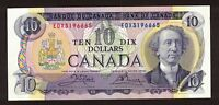 CANADA 1971 $10 CROW BOUEY REPLACEMENT NOTE LITHO SERIAL EDX3196665 GEM UNC