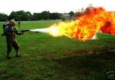 New! 140 FLAME THROWER PATENTS on CD-ROM!