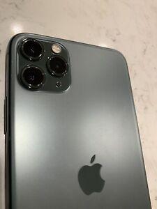 Apple iPhone 11 Pro Max - 256GB - MidnightGreen (AT&T)  - IMEI BAD - Locked IC