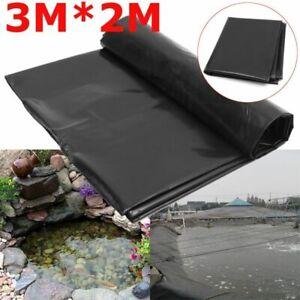 Fish Pond Pool Liner Waterproof HDPE Membrane Reinforce Landscaping Garden Lawn