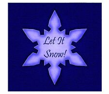 Sizzix Snowflake Movers & Shapers magnetic die #656447 Retail $9.99 Retired!!