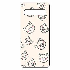 For Samsung Galaxy S10 Silicone Case Cute Pig Pattern - S7396