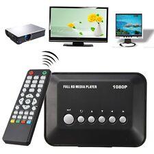 Multi Media Player Full HD HDMI 1080P Video YPbPr USB AV SDHC MKV RM RMVB AVI