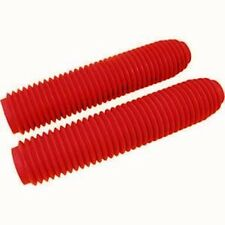 NEW WPS RED UNIVERSAL FORK BOOTS HONDA CR125 CR250 CR480 CR500 FREE SHIPPING!
