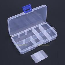 10 Compartments Fishing Fish Hook Bait Lure Box Tackle Storage Container Case