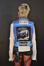 Punk Rock Battle jacket The Unseen Women's Vest size L