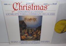 SLPD 12561 Baroque Christmas Concertos & Cantatas Maria Zadori Capella Savaria