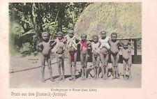 Gruss aus dem Bismarck Archilpelago,Lithir Islands,German Papua New Guinea,1906