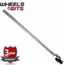 "24"" Inch 600mm Flexi Bar Polished Finish with 1/2 inch socket head tommy Breaker"