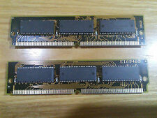 VINTAGE RETRO PC IBM compatibil 2 moduli SIMM RAM da 72Pin 8 Mbyte sigla E169465