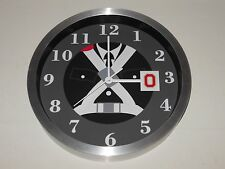 Ohio State University Marching Band 10 Inch Premium Metal Wall Clock