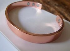 Pure Copper Magnetic Bracelet Arthritis Men Women THE ORIGINAL 6 magnets NEW