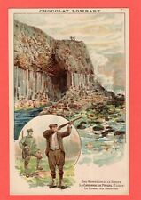 Lombart Chocolate Chocolat Fingals Cave Staffa Shooting Advertising pc Ref P820