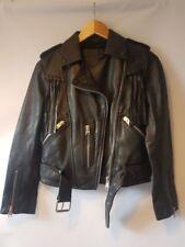Zip Leather Hippie Coats & Jackets for Women