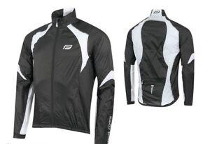 Force Bunda Lightweight Windproof Jacket x53 Black/White Size L New with Tags
