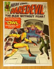 DAREDEVIL #3 VF (8.0) AUGUST 1964 MAN WITHOUT FEAR OWL MARVEL COMICS*