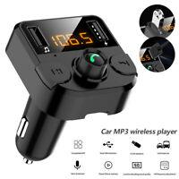 Transmetteur FM voiture mains libres Bluetooth sans fil Lecteur MP3 3.1A Kit  LB