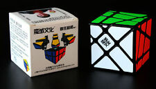 YJ MoYu Crazy YiLeng Fisher Rubik's Cube Fisher Puzzle YJ Crazy Fisher Black