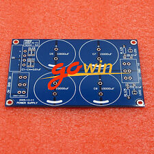 Rectifier Filter Power Supply PCB Board (For LM3886TF TDA7293) 4*10000uF/50V