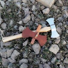 MDM Double Blade Bit Bearded Axe viking Tomahawk Throwing Zombie Hatchet - RAZOR